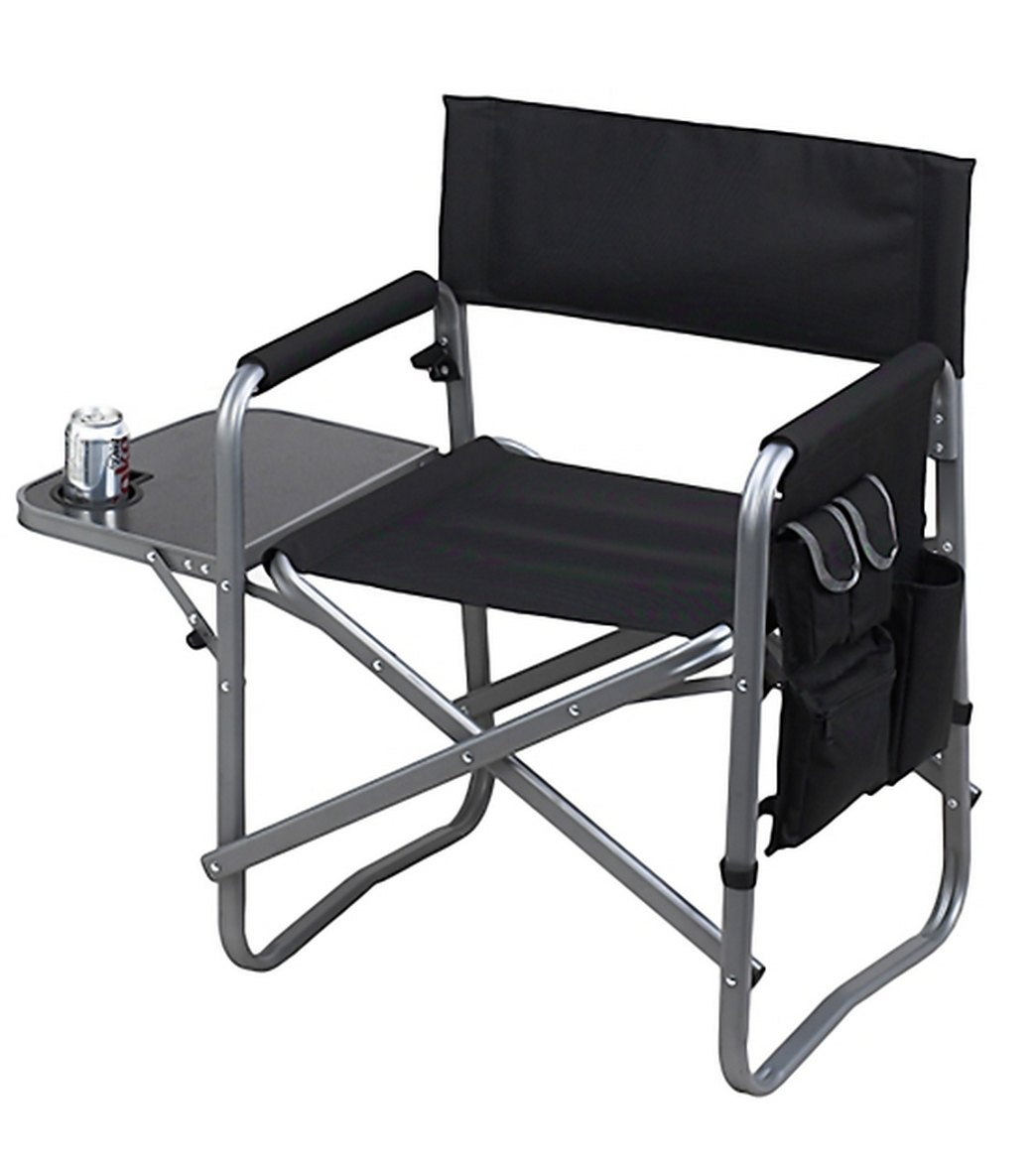 Folding Directors Chair With Side Table Picnic At Ascot Director S Chair With Side Table