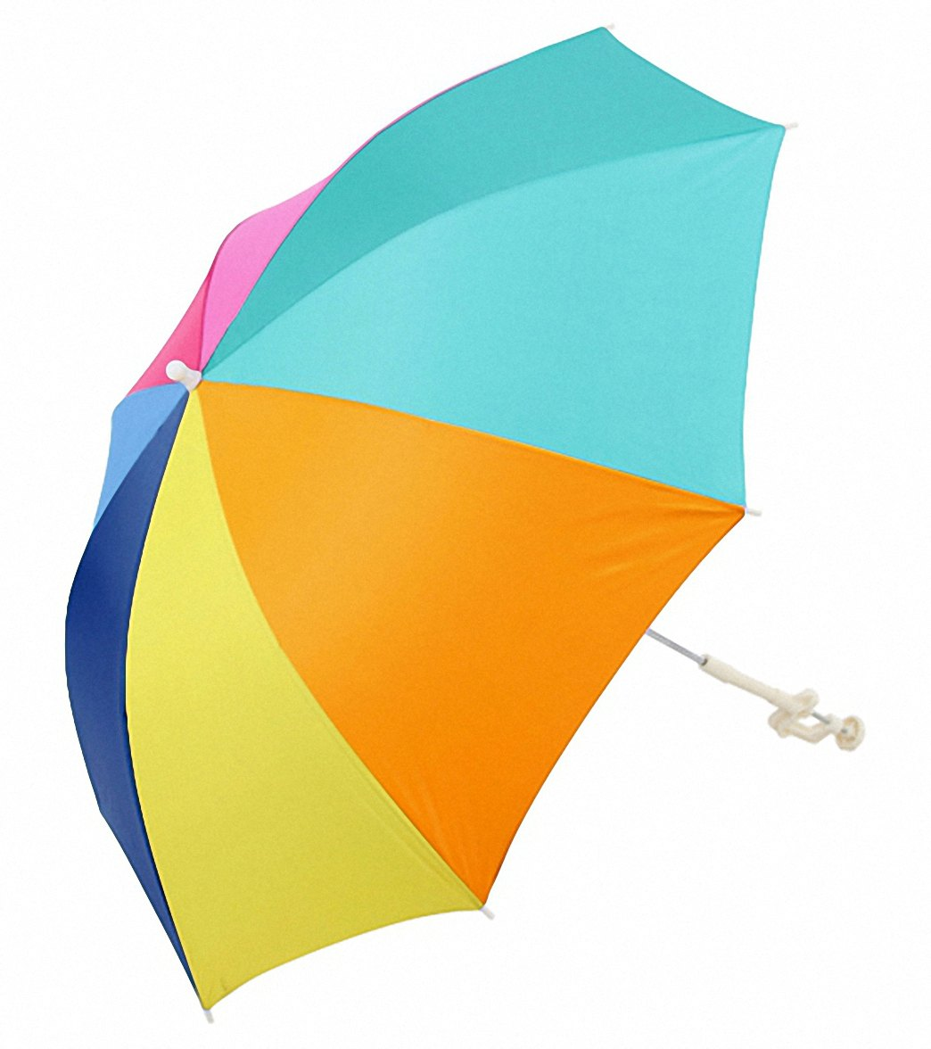 Clamp On Chair Umbrella Rio Brands Beach Chair Clamp On Umbrella Spf50 At