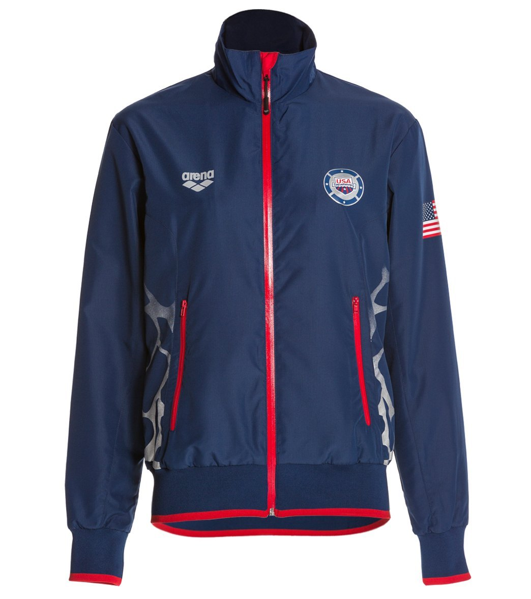Arena USA Swimming Full Zip Jacket at SwimOutletcom