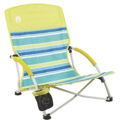 Low Beach Chairs Walmart Small Rocking Chair Coleman Deluxe Sling At Swimoutlet