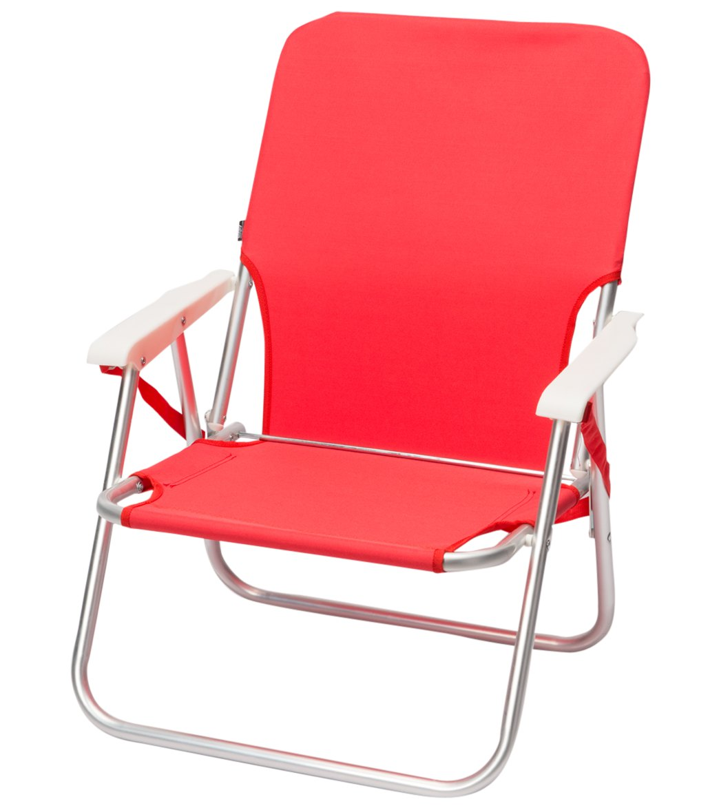 Beach Sling Chair Wet Products Red Sling Strap Beach Chair At Swimoutlet