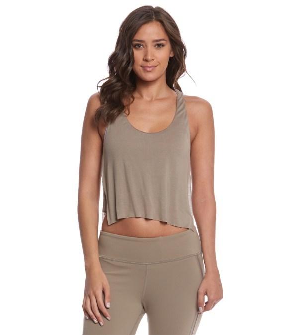 eeab6201849 Yoga Crop Tops. Yoga Crop Tops. Yoga Long Sleeve Criss Cross Crop Top  Loomrack