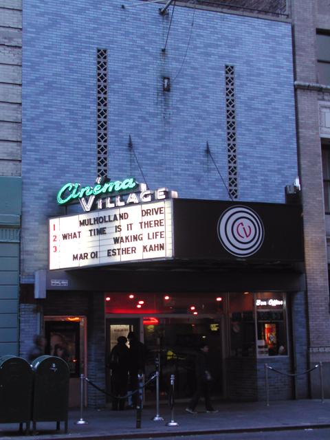 Cinema Village in New York NY  Cinema Treasures
