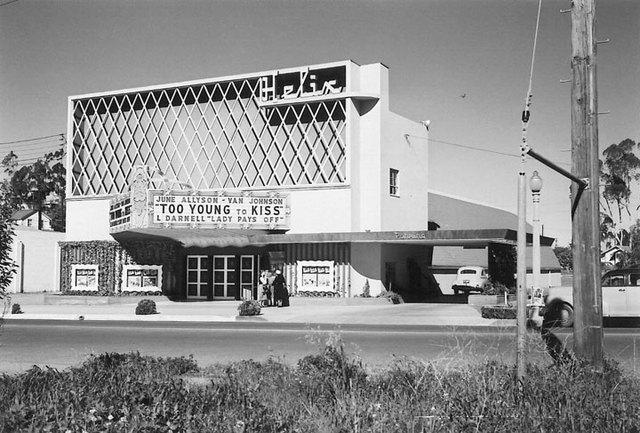 Helix Theatre in La Mesa CA  Cinema Treasures