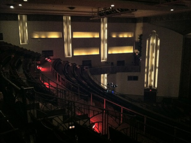 Theatre Balcony From Side