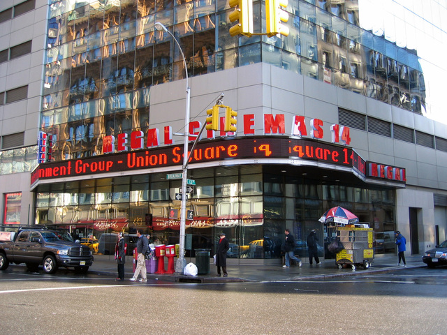 Regal Union Square Stadium 14 in New York NY  Cinema
