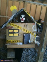 Homemade Haunted House Costume - Photo 2/2