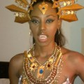 Before leaving the house akasha queen of the damned costume