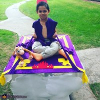 Magic Carpet From Aladdin Costume