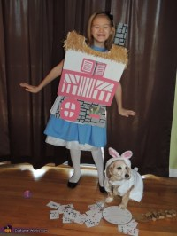 Alice and the White Rabbit Costume