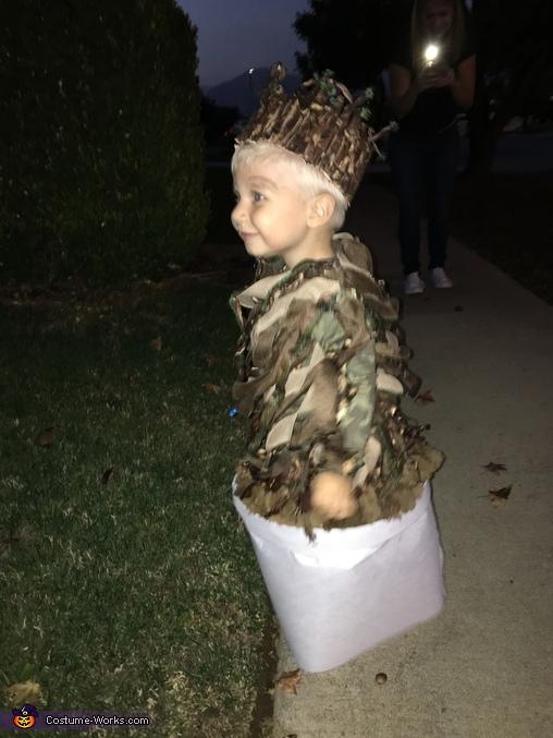 Baby Groot Costume DIY  Photo 45