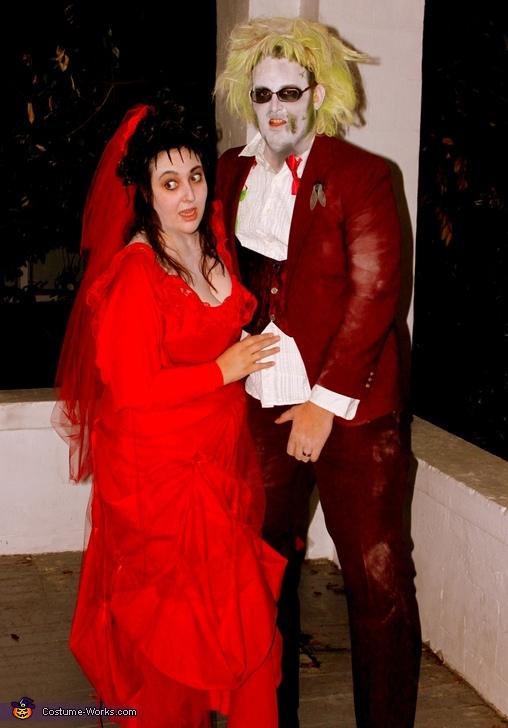 Beetlejuice and Lydia Couple Costume Idea