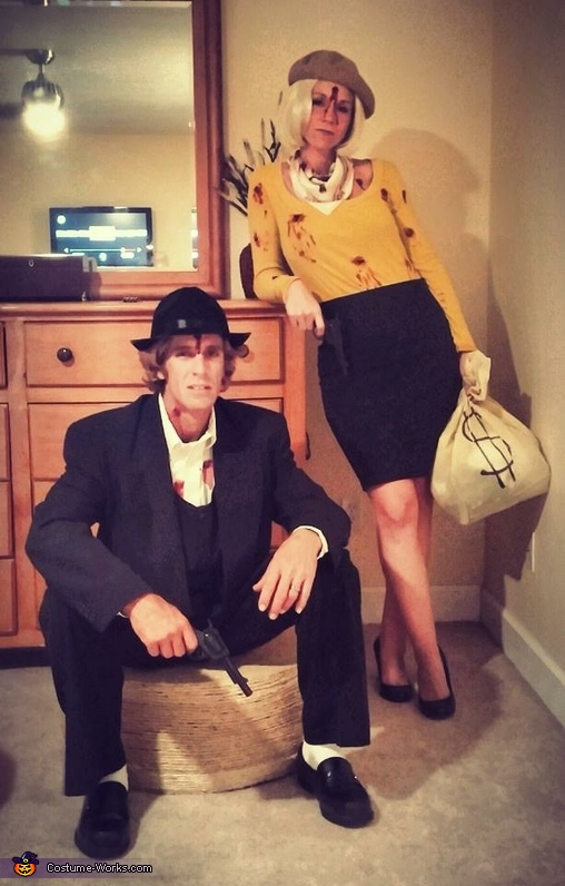 Bonnie And Clyde Costume : bonnie, clyde, costume, Bonnie, Clyde, Couple, Costumes