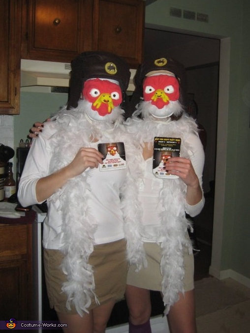 Buffalo Wild Wings  DIY Halloween Costumes