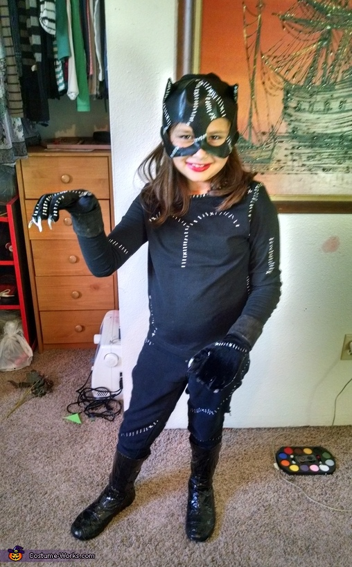Catwoman Girls Halloween Costume