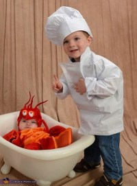 Chef and Lobster Halloween Costume