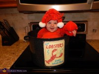 Chef and Lobster Kids Halloween Costume - Photo 3/4