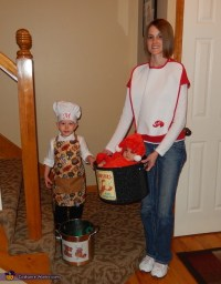 Chef and Lobster Kids Halloween Costume - Photo 4/4