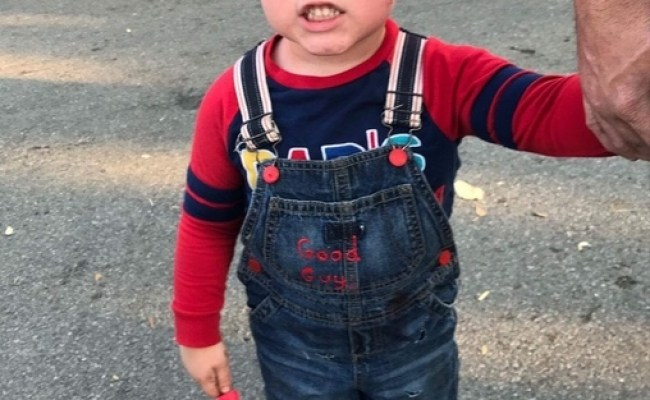 3 Years Old Chucky Costume
