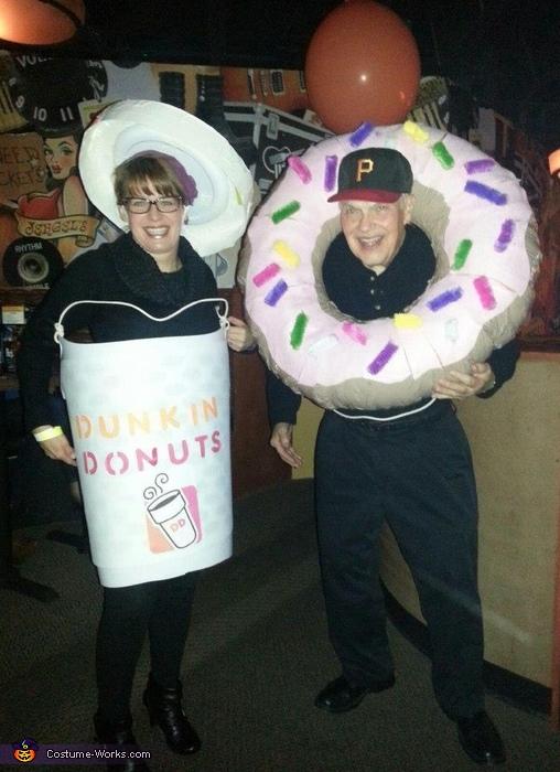 Coffee and Donuts Halloween Costume
