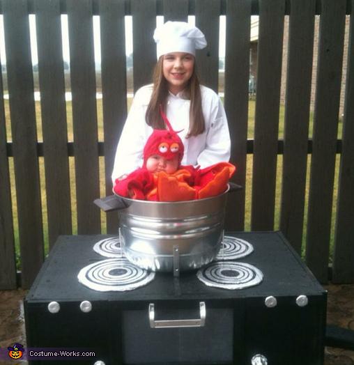 Lobster Pot Halloween Costume The Halloween And Makeup