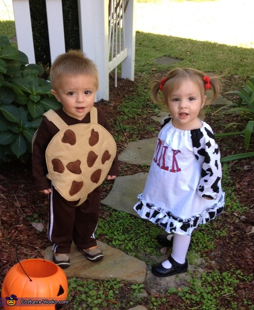 Cookies and Milk Baby Costume
