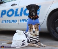 Cops & Robbers Dogs Costume