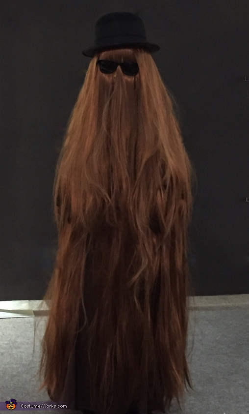 Cousin Itt Costume DIY