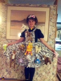 Creative Crazy Cat Lady Costume