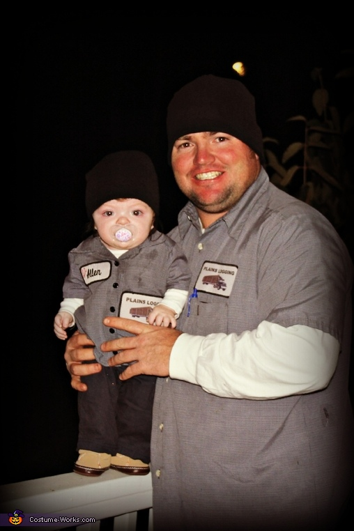 Daddy And His 'Mini Me' Costume
