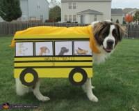 Dog School Bus Costume
