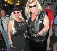 Dog the Bounty Hunter and Beth Couples Costume