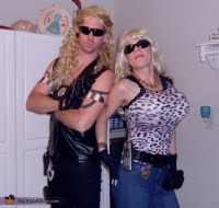 Dog the Bounty Hunter and Beth Couple Halloween Costume