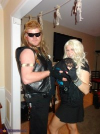 Dog the Bounty Hunter and Beth - Couple Halloween Costume ...