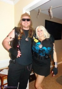 Dog the Bounty Hunter and Beth - Couple Halloween Costume