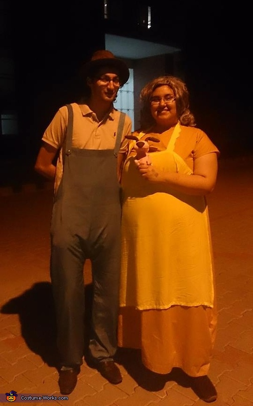 Courage the Cowardly Dog: Eustace and Muriel Costume