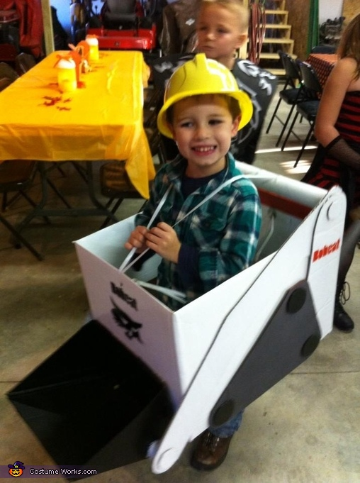 Farm Equipment DIY Boys Halloween Costumes