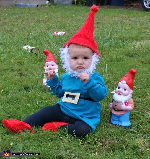 Homemade Garden Gnome Costume