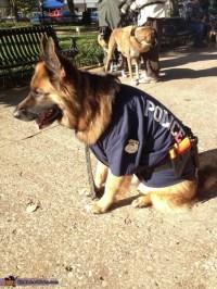 German Shepherd Police Dog Halloween Costume - Photo 2/5