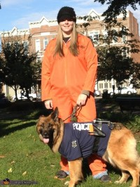 German Shepherd Police Dog Halloween Costume
