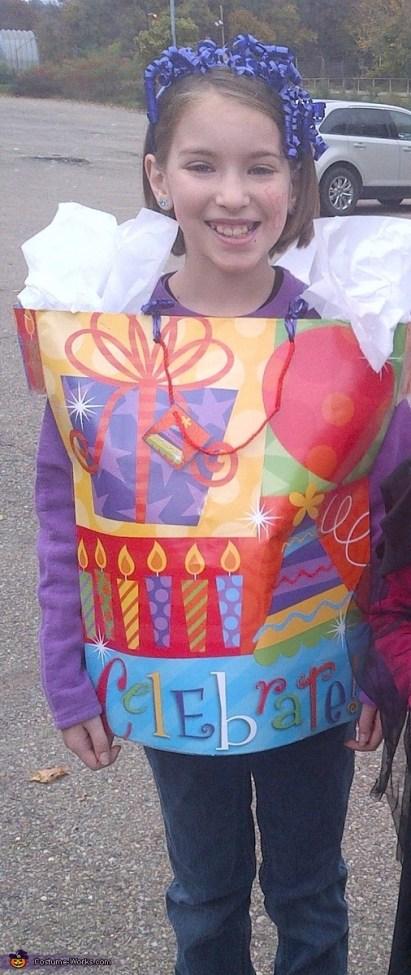 Gift Bag Costume