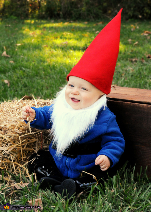 Little Gnome - Homemade costumes for babies
