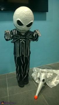 Little Jack Skellington and Zero Costume