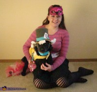 Mad Hatter and Cheshire Cat - Costume Ideas for Pets ...