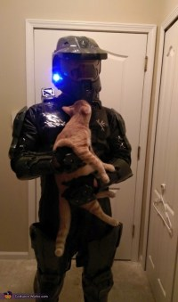Master Chief and Cortana Couple Costume - Photo 2/3