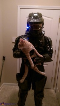 Master Chief and Cortana Couple Costume - Photo 3/3