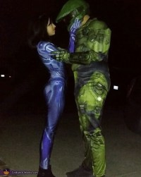 Master Chief and Cortana Costume