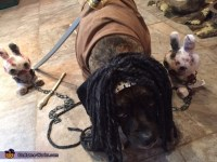Michonne of the Walking Dead Dog Costume