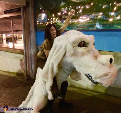 Neverending Story with Falcor and Atreyu Costume