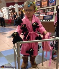 Old Crazy Cat Lady Costume